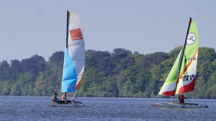 Reprise des cycles, il reste quelques places ! Catamaran, Goélette et Planche à voile.