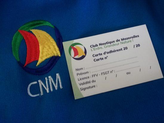 Carte adhérent du CNM