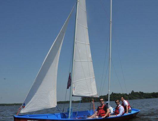Cours de navigation en équipage sur Goélette