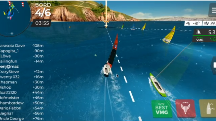 Virtual Regatta Inshore : Tips & Tricks