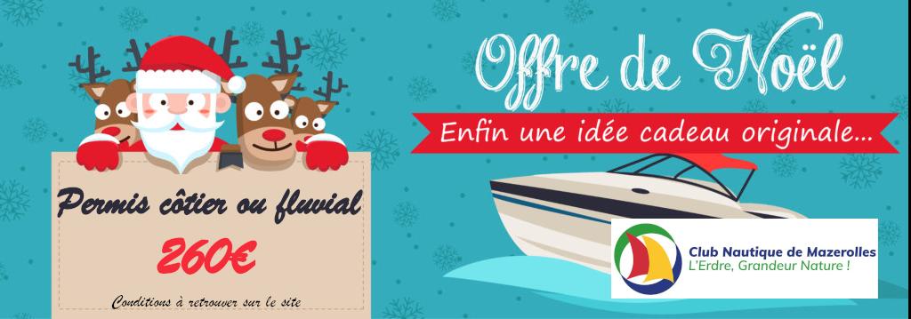 Offrez un permis bateau pour Noël!