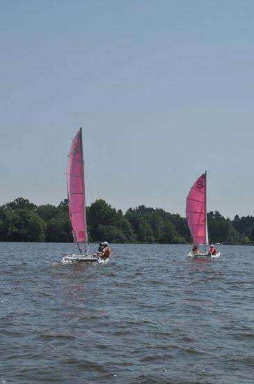 Stages d'été – Activités nautiques à Sucé-sur-Erdre