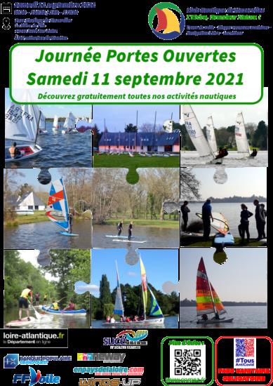 Testez la voile à Mazerolles – Samedi 11 septembre 2021